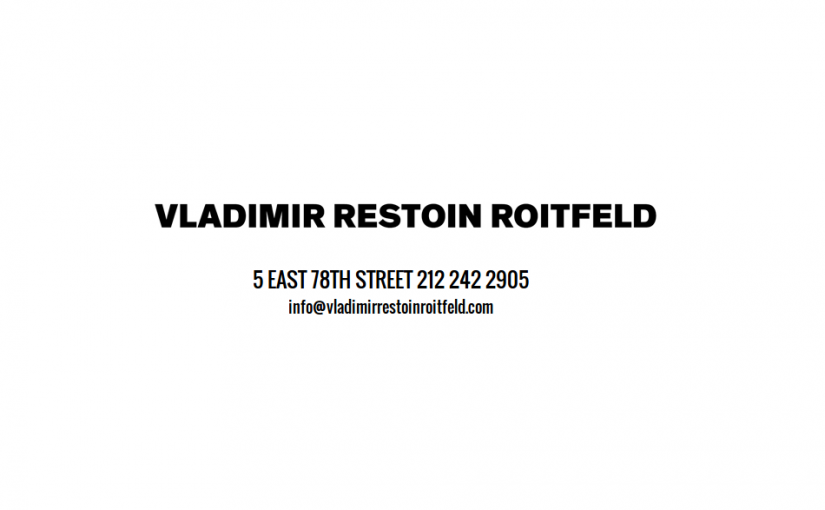 Vladimir Restoin Roitfeld
